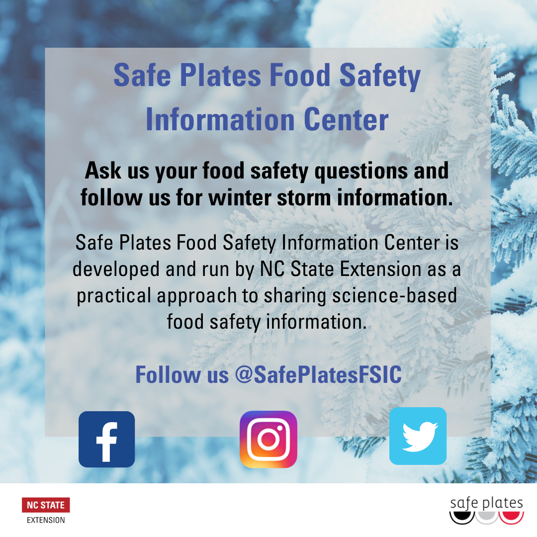 Safe Plates Food Safety flyer image